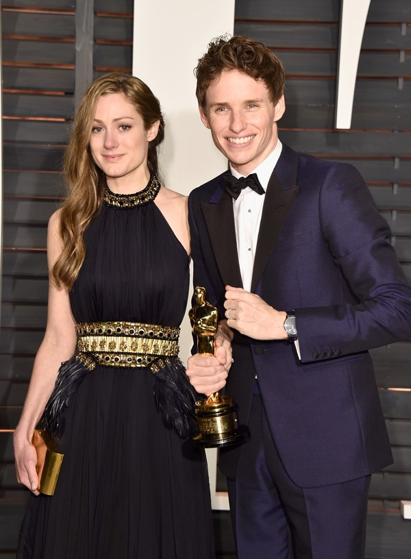 Hannah Bagshawe e Eddie Redmayne  (Foto: Getty Images)