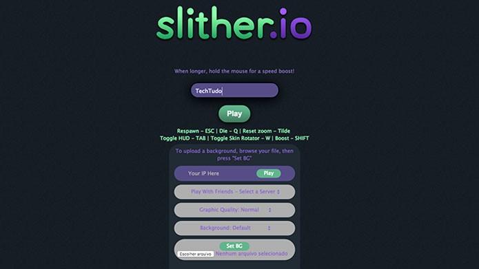 Veja como baixar os melhores mods de Slither.io (Foto: Reprodução/Tais Carvalho)
