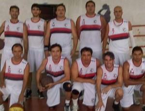 Time de basquete do Campinense (Foto: Divulgação)