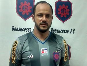 Lopes, ex-Botafogo, acerta com o Bonsucesso (Foto: Fábio Torres/Divulgação)