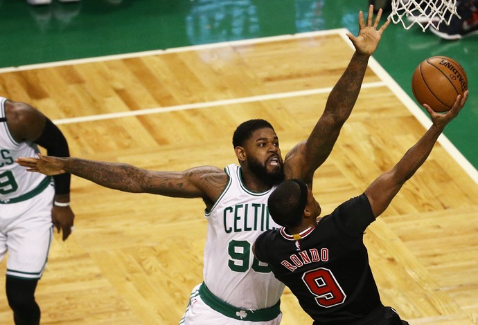 Boston Celtics x Chicago Bulls, jogo 2, NBA, playoffs (Foto: Getty Images)