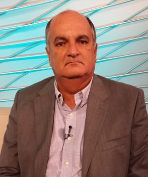 """Ex-presidente do Vitória, Alexi Portela, no """"Arena SporTV"""" (Foto: Victor Costa / SporTV.com)"""