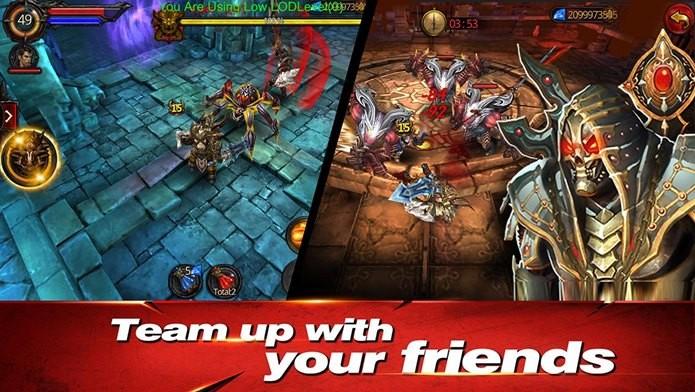 Game de MMORPG incrível com gráficos dignos de jogos similares para PC (Foto: Divulgação)