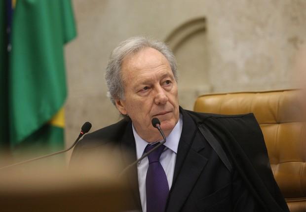O ministro do STF Ricardo Lewandowski em sessão na Corte (Foto: Carlos Humberto/SCO/STF)