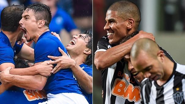 Cruzeiro e Atlético-MG disputam a final da Copa do Brasil nesta quarta, dia 26, no Mineirão (Foto: Getty Images)
