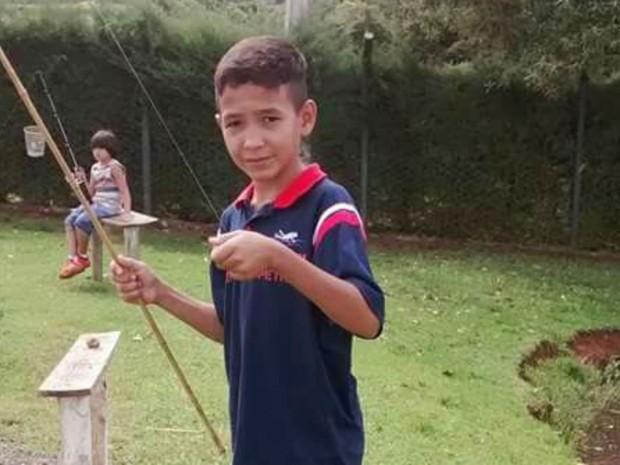 Carlos Henrique de Jesus, atingido por linha de cerol em Ribeirão Preto (Foto: Reprodução/Arquivo Pessoal)