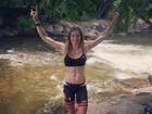 Daniella Cicarelli mostra foto após treino e barriga sarada chama atenção