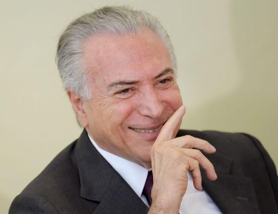 Michel Temer presidente do Brasil (Foto:  EVARISTO SA/AFP)
