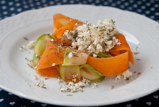 Salada chique de legumes (Foto: Blog da Mimis)