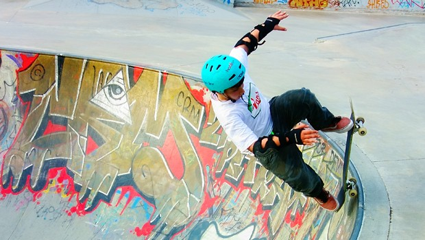 Equipamentos garantem a segurana dos skatistas (Foto: Shutterstock / Canbedone)