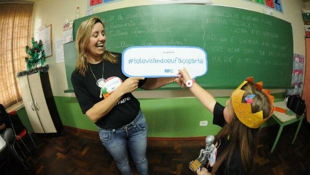 Primeiro passo é a mobilização de escolas, parceiros e professores (Foto: Divulgação/ RPC)