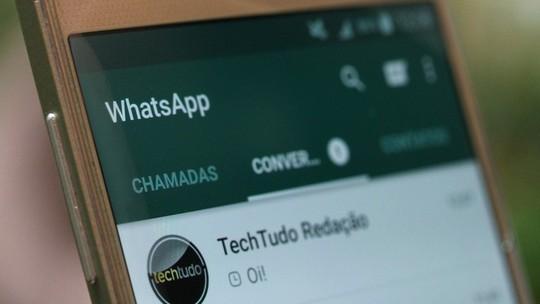 Foto: (Baixe apps divertidos para iOS e Android e anime suas conversas do WhatsApp (Foto: Carolina Ochsendorf/TechTudo))