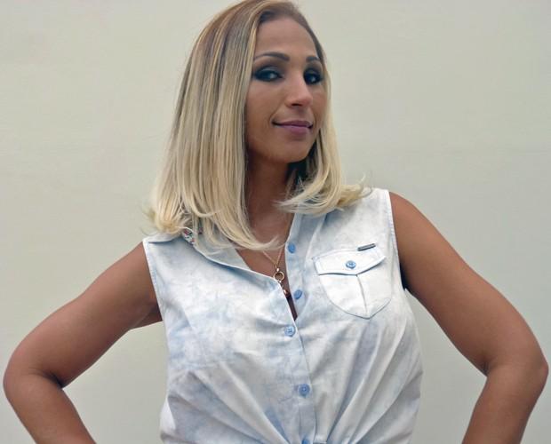 Valesca Popozuda exibe novo visual (Foto: Mais Você/TV Globo)