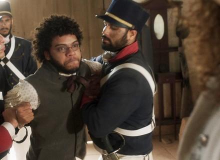 Sebastião pega Libério como seu escravo