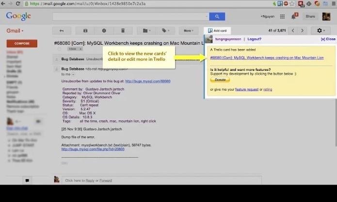 Crie cards através do Gmail(Foto: Reprodução/André Sugai)
