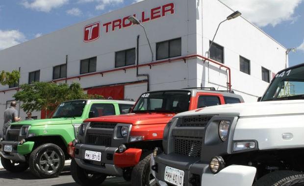 Fábrica da Troller no Ceará (Foto: Divulgação)