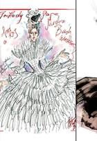 Lá vem a noiva... Estilistas sugerem vestidos de casamento nada discretos para Lady Gaga