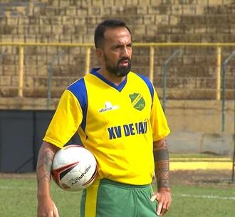 Luiz Henrique, meia, XV de Jaú, Segunda Divisão (Foto: Reprodução / TV TEM)