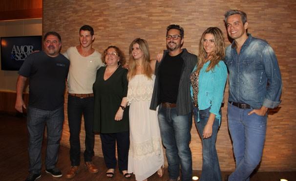 elenco 606 (Foto: Luisa Leite/TV Globo)