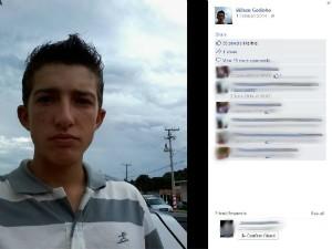 Wilson Godinho, de 19 anos, morreu em São Joaquim (Foto: Reprodução/Facebook)