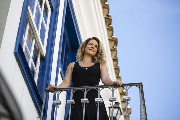 Leandra Leal na Mostra de Cinema de Tiradentes (Foto: Leo Lara)