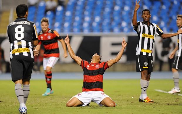 Nixon gol Flamengo (Foto: Alexandre Vidal / Fla imagem)