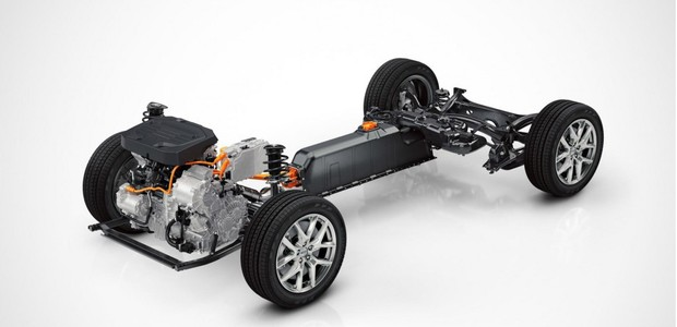 Plataforma modular CMA da Volvo para carros compactos (Foto: Divulgação)