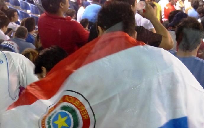 torcida Nacional-PAR no defensores del chaco final libertadores (Foto: Daniel Mundim)