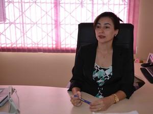 Delegada da DPCA de Vilhena, Solângela Guimarães (Foto: Eliete Marques/G1)
