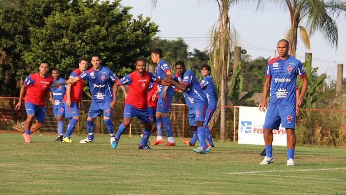 Vila Nova - treino (Foto: Comunicação / Vila Nova)
