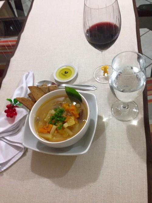 Sopa Nutritiva de Legumes e Carne