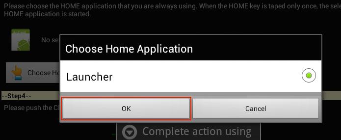 Marcando o atual aplicativo do botão Home (Foto: Reprodução/Edivaldo Brito)