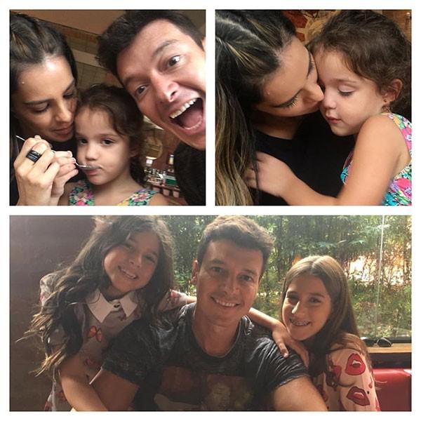 Rodrigo Faro com a família (Foto: Reprodução/Instagram)