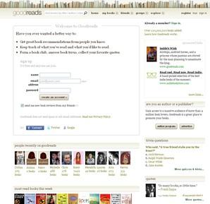 goodreads comunidade leitura