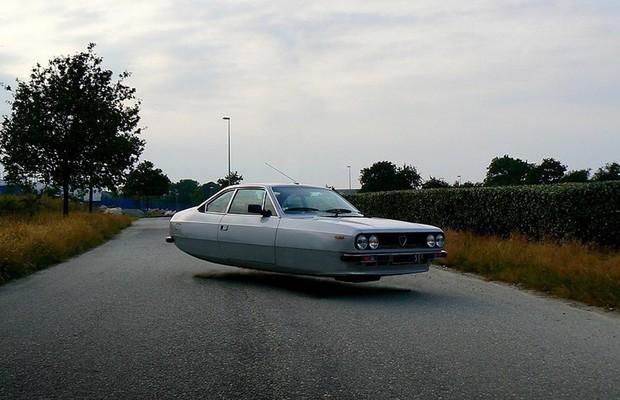 Carro Voador: Lancia Beta Coupé (Foto: Divulgação)