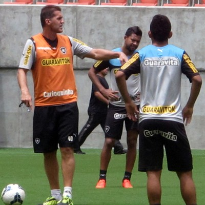 Treino Botafogo Arena Amazonia (Foto: Fred Huber)