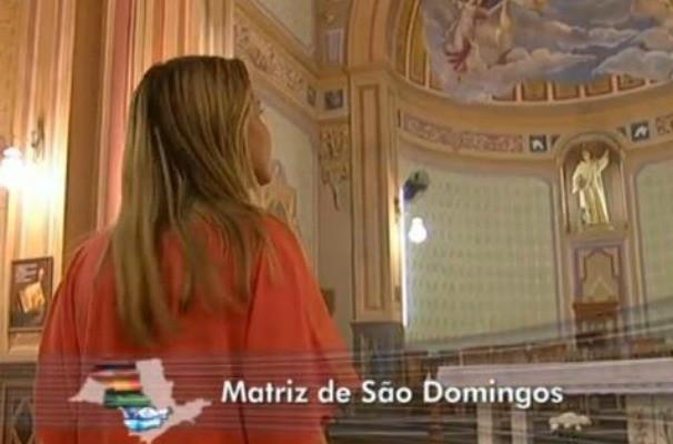 Matriz de São Domingos em Catanduva (Foto: Reprodução / TV TEM)
