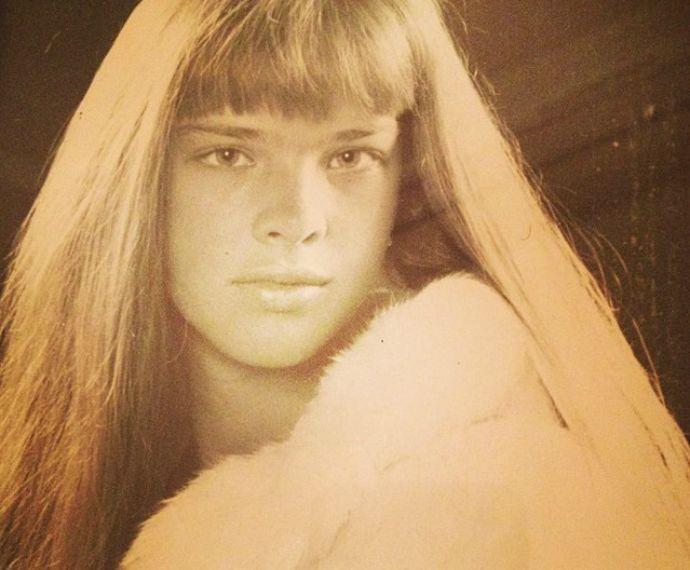 Letícia Birkheuer aos 15 anos (Foto: Arquivo Pessoal)