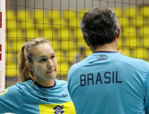 Fernandinha levantadora vôlei seleção (Foto: Alexandre Arruda/CBV)