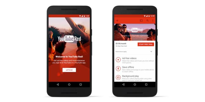 YouTube Red adiciona funcionalidades e conteúdo exclusivo ao aplicativo de vídeos do Google (Foto: Reprodução/Elson de Souza)