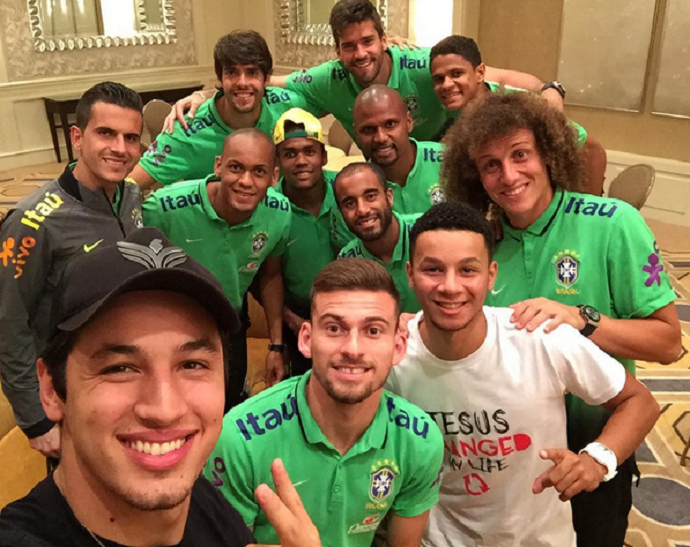 Pastor Guilherme Batista seleção brasileira Estados Unidos (Foto: Reprodução/Instagram)