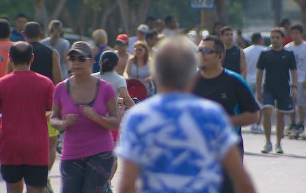 Prática de exercício físico auxilia no combate à obesidade (Foto: Bom Dia Amazônia)