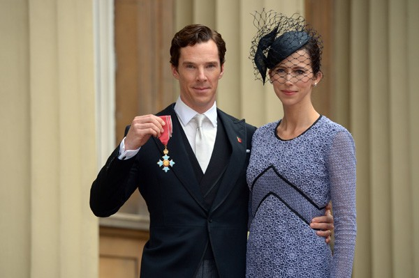 Benedict Cumberbatch e Sophie Hunter (Foto: Getty Images)