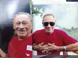 Mario Ivo Sampaio, de 82 anos,  (Foto: Abinoan Santiago/G1)
