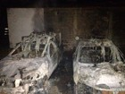 Quatro veículos são destruídos por incêndio em Paraíso do Tocantins