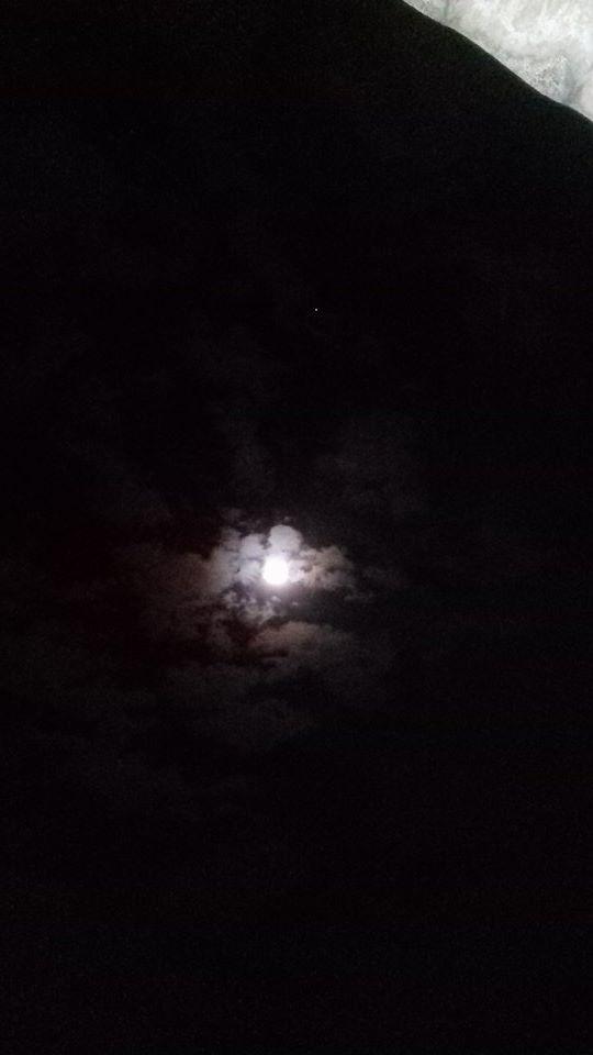lua azul (Foto: Júnior Serrate)