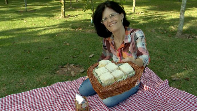 Cecília Rigoni é receita de prazer, felicidade e geração de renda (Foto: Divulgação/ TV Gazeta ES)