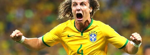 David Luiz gol jogo Brasil x Colômbia