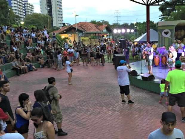 Quarta edição do evento aconteceu no Parque dos Bilhares (Foto: Indiara Bessa/G1 AM)
