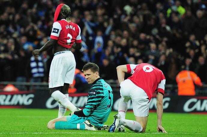 Szczesny Arsenal derrota Copa da Liga Inglesa (Foto: Getty Images)